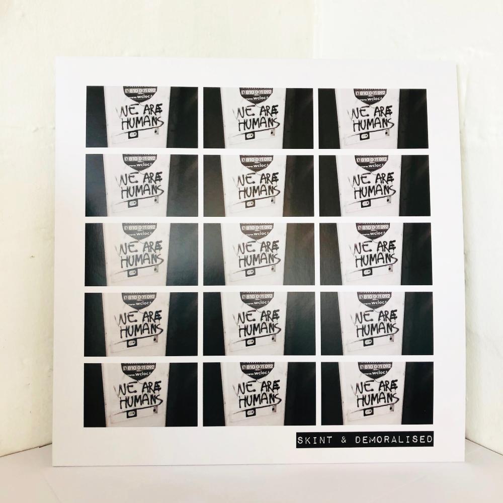 Skint & Demoralised 'We Are Humans' vinyl